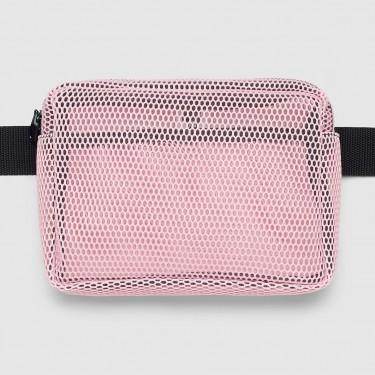 """Сумка на пояс рожева сітка """"Pink mesh"""" Radiocat"""