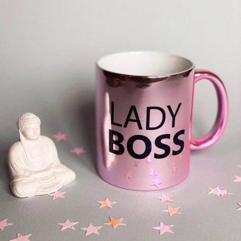 """Чашка """"Lady Boss"""" CENSORED"""