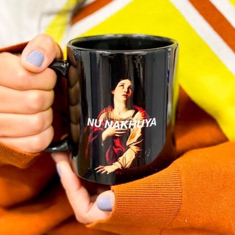 "Чашка ""Nu nakhuya"" CENSORED"