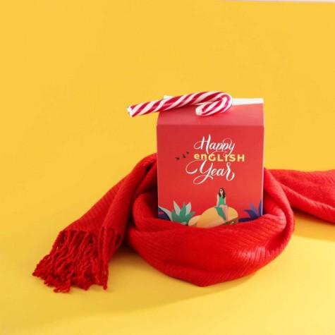 Англійський календар HAPPY ENGLISH YEAR Gifty