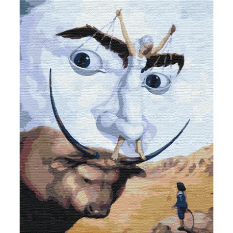 """Картина за номерами """"Абстракція Далі"""" Brushme"""