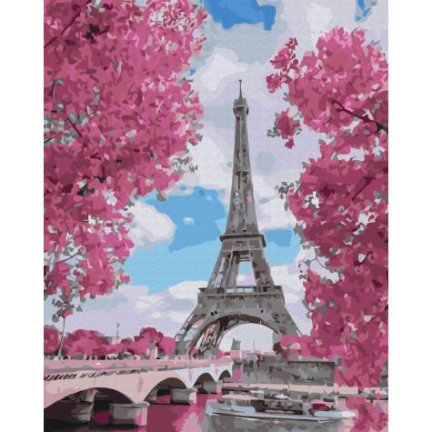 "Картина за номерами ""Магнолія в Парижі"" Brushme"