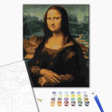 "Картина по номерам ""Мона Лиза"" Brushme"