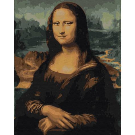 """Картина за номерами """"Мона Ліза"""" Brushme"""