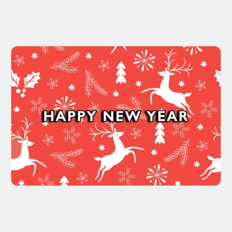 """Листівка """"Happy New Year"""""""