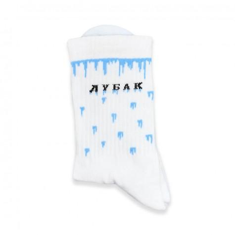 """Шкарпетки білі теплі """"Дубак"""" 1and1"""