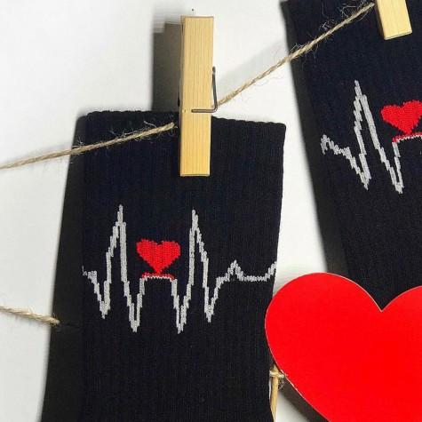 "Шкарпетки чорні ""Пульс"" 1and1"