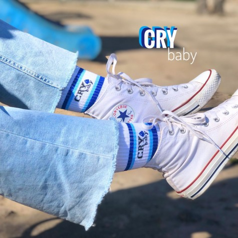 "Шкарпетки білі ""Cry Baby"" 1and1"