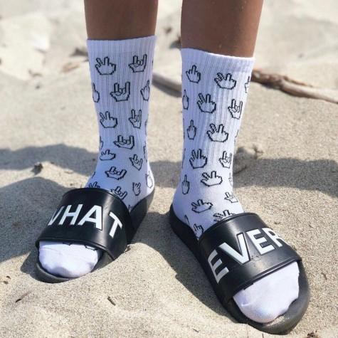 "Шкарпетки білі ""Fingers"" 1and1"