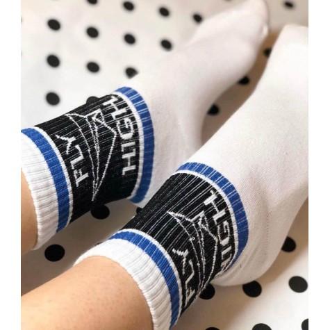 """Шкарпетки білі """"Fly High"""" 1and1"""