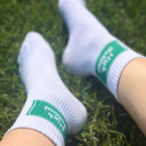 "Шкарпетки білі ""High School"" 1and1"