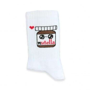 """Шкарпетки білі """"Nutella"""" 1and1"""
