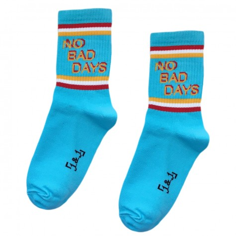 "Шкарпетки блакитні ""No bad days"" 1and1"