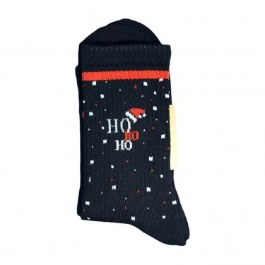 "Носки черные теплые ""HoHoHo"" 1and1"