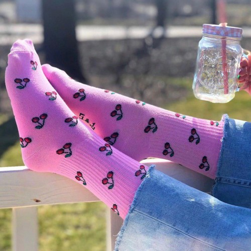 "Шкарпетки рожеві ""Cherry"" 1and1"