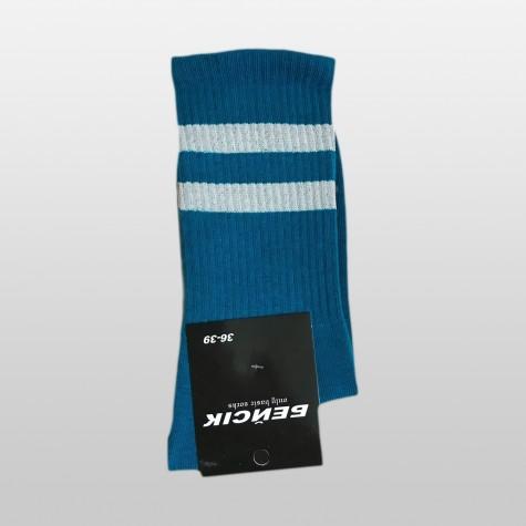 """Шкарпетки базові """"Космічні сині"""" Бейсік"""