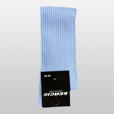 """Шкарпетки базові """"Блакитні"""" Бейсік Моно"""