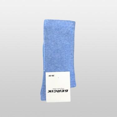 """Шкарпетки базові """"Блакитний Меланж"""" Бейсік Моно"""