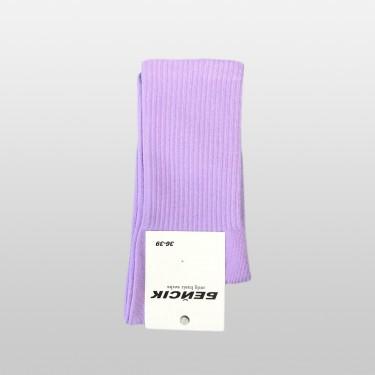 """Шкарпетки базові """"Фіолетові"""" Бейсік Моно"""