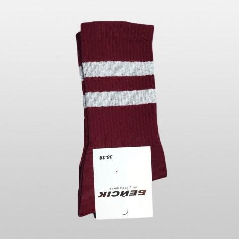 """Шкарпетки базові """"Бордові"""" Бейсік"""