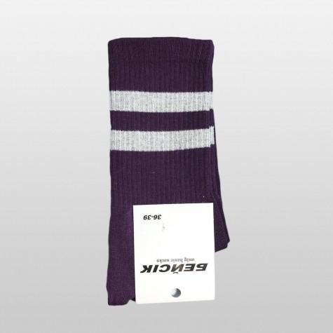 """Шкарпетки базові """"Темно-фіолетові"""" Бейсік"""