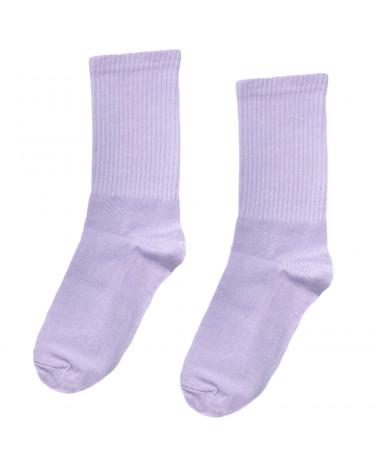 Носки фиолетовые однотонные Blankful
