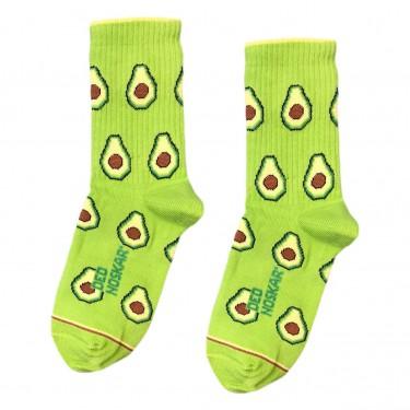 """Шкарпетки салатові дитячі """"Авокадо"""" Дед Носкарь"""