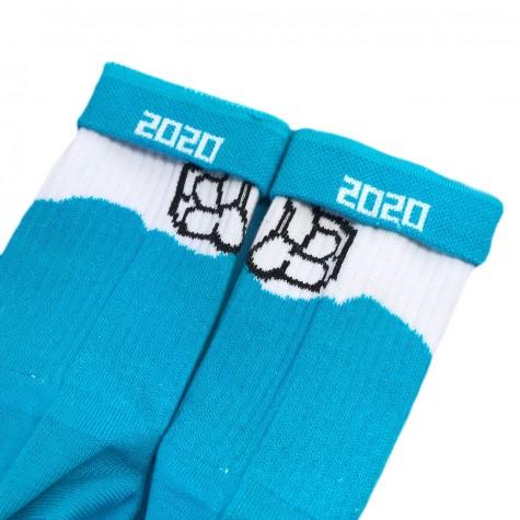 """Шкарпетки біло-блакитні """"Плакса"""" Дед Носкарь"""