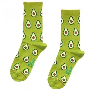 """Носки зеленые """"Авокадо"""" Дед Носкарь"""