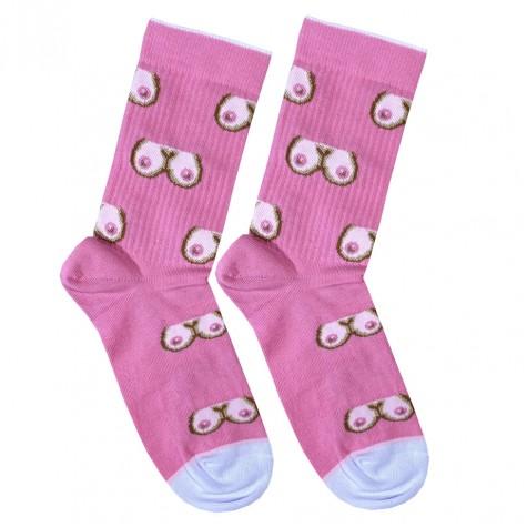 """Шкарпетки рожеві """"Груди"""" Дед Носкарь"""