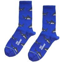 """Шкарпетки сині """"Акули"""" Дед Носкарь"""