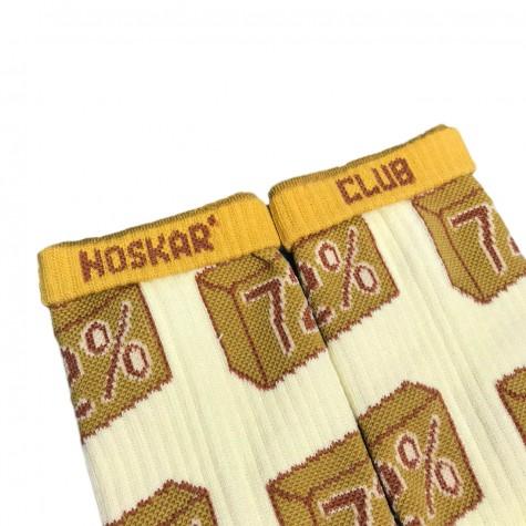 """Шкарпетки світло-бежеві """"Господарське Мило"""" Дед Носкарь"""