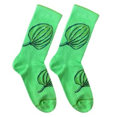 """Шкарпетки зелені """"Подорожник"""" Дед Носкарь"""