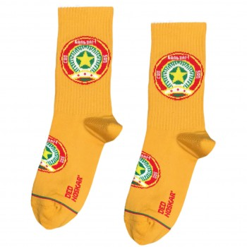 "Шкарпетки жовті ""Бальзам Золота Зірка"" Дед Носкарь"