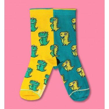 """Шкарпетки жовто-зелені """"Драко"""" Дед Носкарь"""