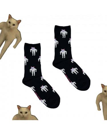 """Шкарпетки чорні """"Кіт Качок"""" Geek Power"""