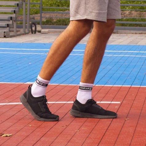 """Шкарпетки білі """"Дідька лисого"""" izi socks"""