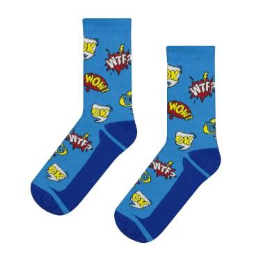 """Шкарпетки сині """"Поп Арт"""" CEH"""