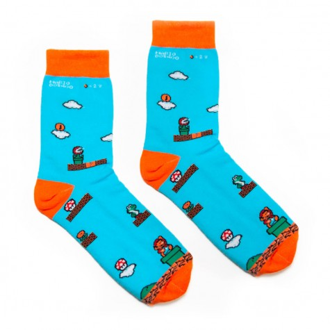 """Шкарпетки блакитні """"Super Mario"""" Just Cover"""