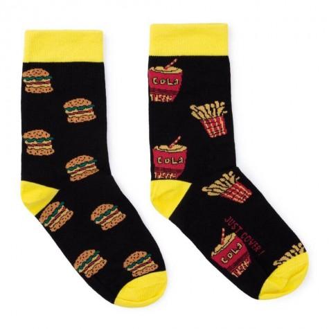 """Шкарпетки чорні """"Fast Food"""" Just Cover"""
