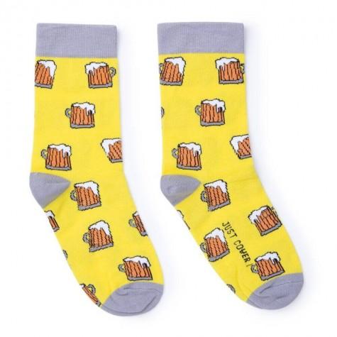 "Шкарпетки жовті ""Пивасик"" Just Cover"