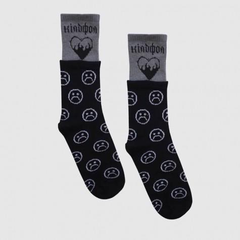 """Шкарпетки дворівневі """"Sad Heart"""" Кілдфол"""