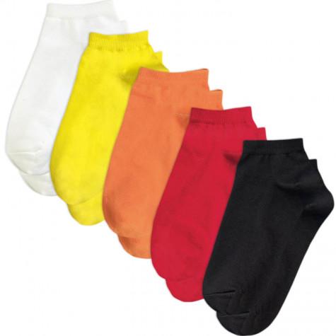 Набір коротких шкарпеток 5 пар різнокольорових Sunny Focks