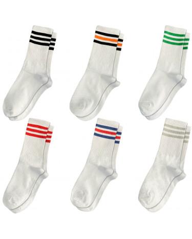 "Набір шкарпеток 6 пар ""All White"" Blankful"