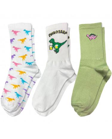 """Набір шкарпеток """"Діно"""" Sunny Focks"""