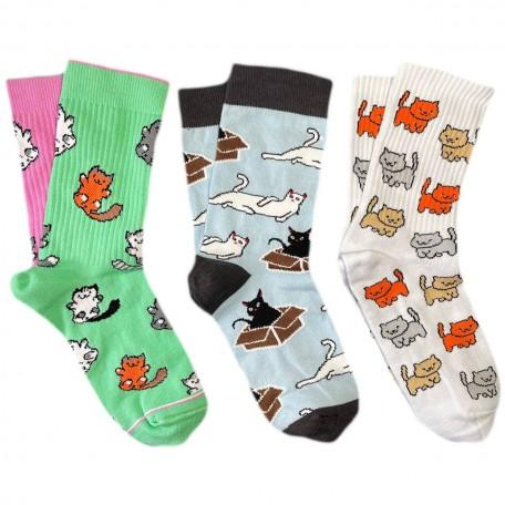 "Набір шкарпеток ""Котики"""