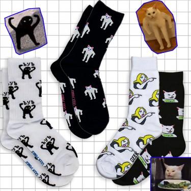 """Набір шкарпеток """"Кото-Мемний"""" Geek Power"""