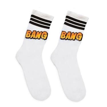 "Носки белые ""BANG"" О, нет"
