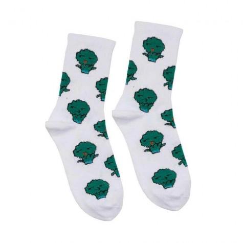 """Шкарпетки білі """"Броколі"""" О, нет"""
