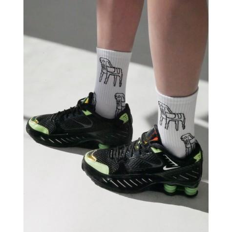"""Шкарпетки білі """"Табуретки"""" О, нет"""